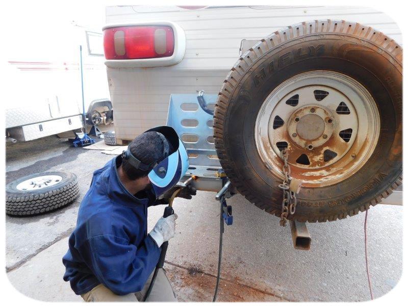 RV Repairs caravan servicing