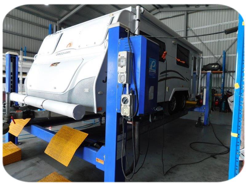 RV Repairs - caravan servicing